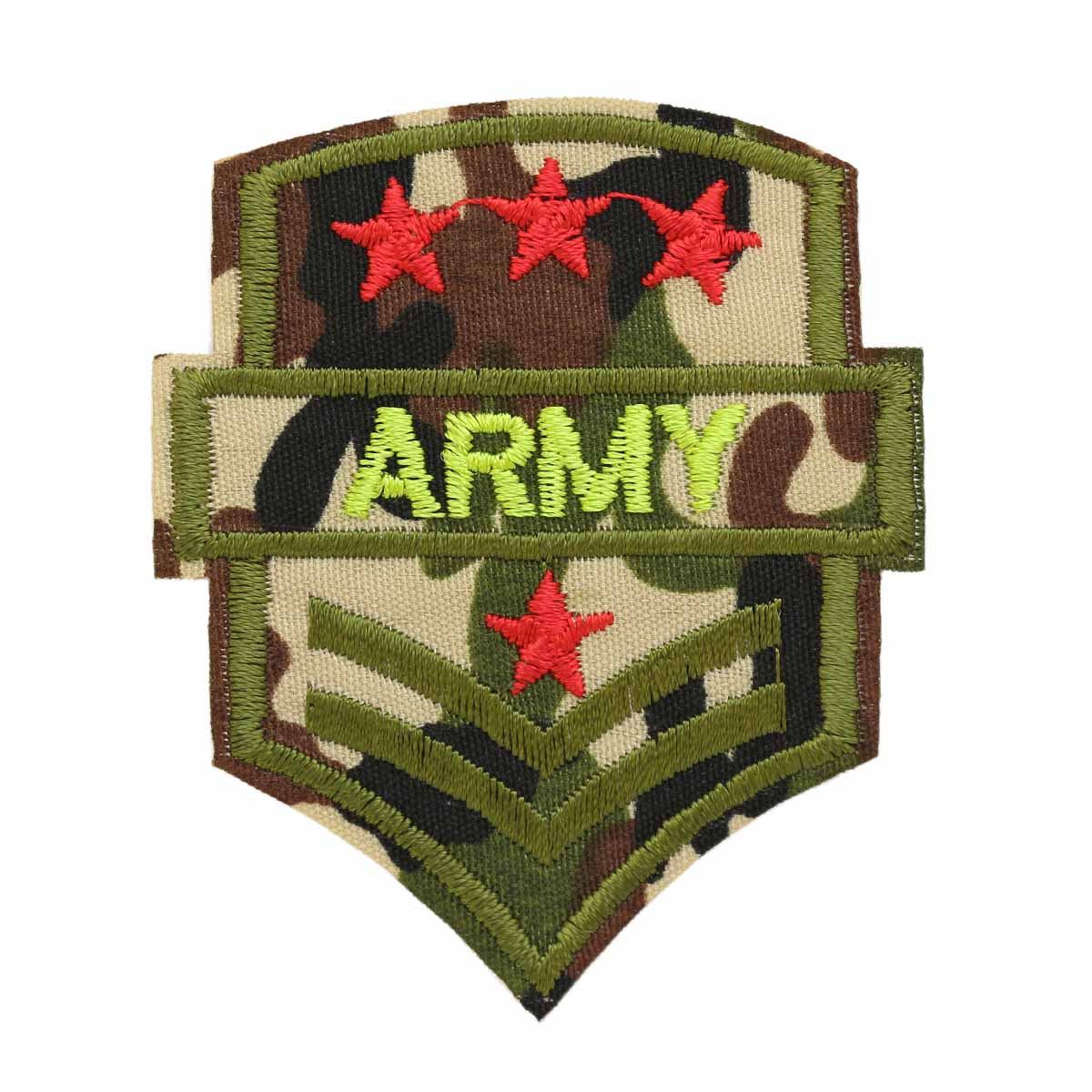Термоаппликация LM-80288 'Army' 1шт Hobby&Pro basic