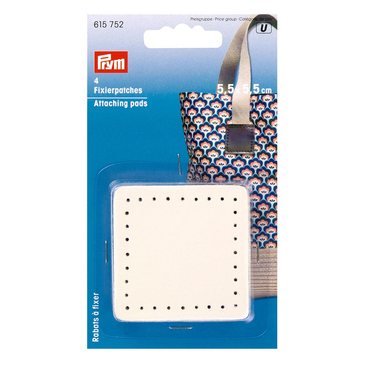 615752 Фиксирующие накладки для ручек сумки бежевый 4шт Prym