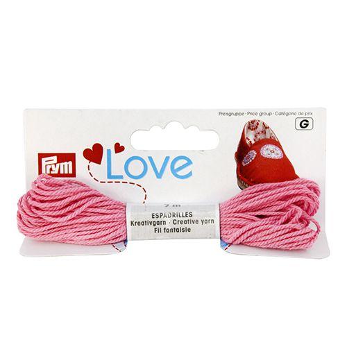 932610 Декоративная нить для эспадрильи 7м розовый, яркий Prym