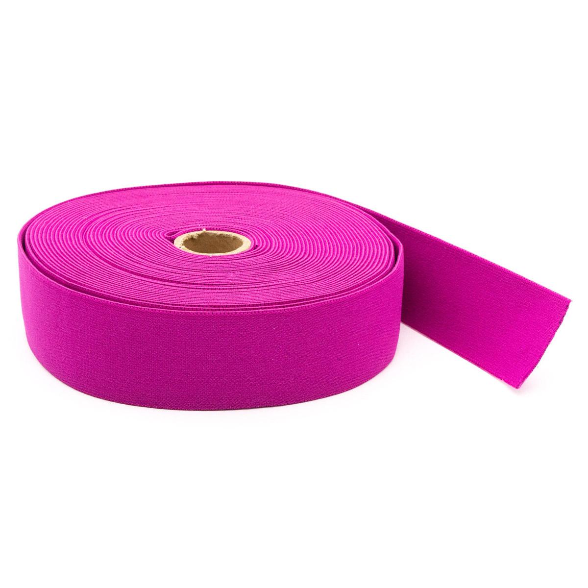 957400 Эластичная лента-пояс 38мм*10м розовый яркий Prym