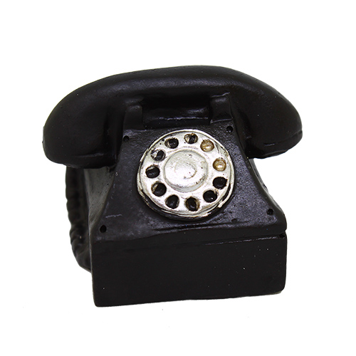 Миниатюра.Телефон, 4*4см