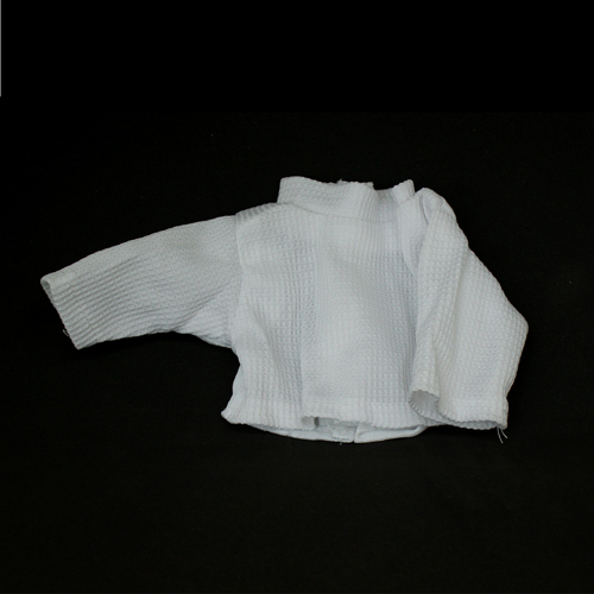 Рубашка для куклы (белая) фото