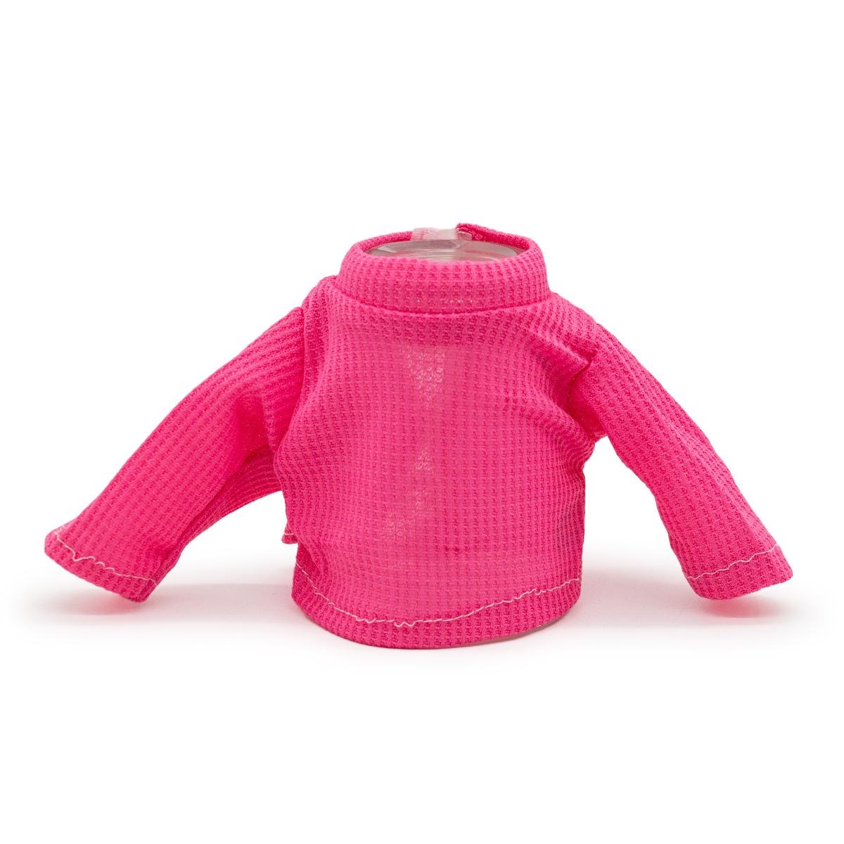 Рубашка для куклы (розовая)