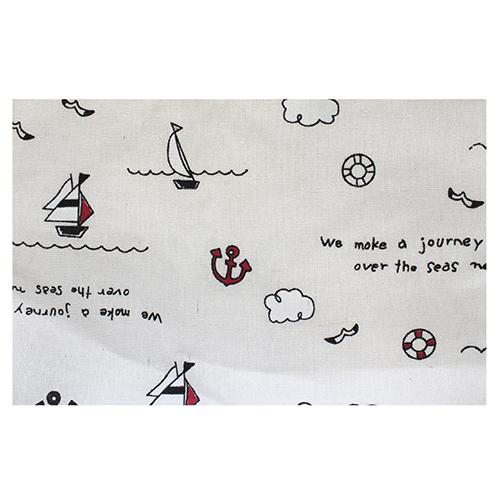 Ткань декоративная 'Морское путешествие', 48*48 см