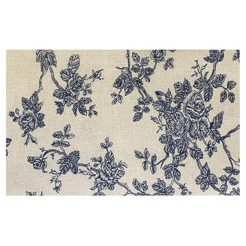 Ткань декоративная 'Голубые розы', 48*48 см