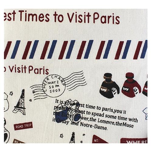 Ткань декоративная 'Визит в Париж', 48*48 см