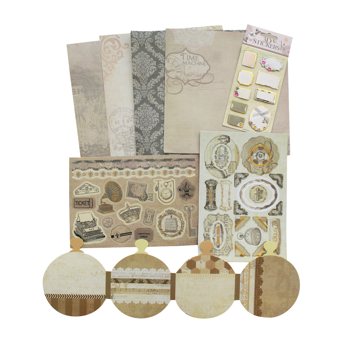 Набор для скрапбукинга 'DIY Book Kit'