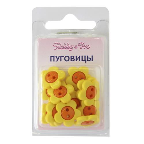 48801 Пуговица 'Цветок' 15мм 12шт