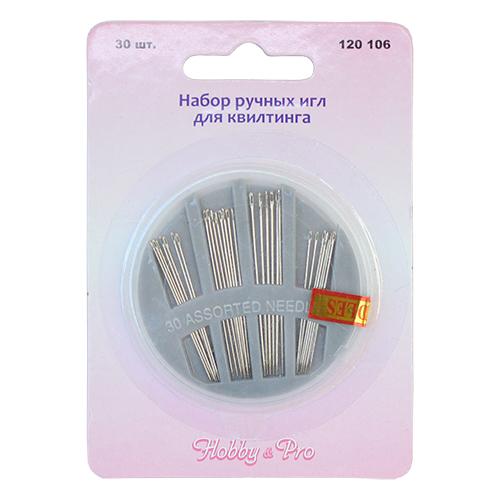 120106 Набор ручных игл для квилтинга Hobby&Pro