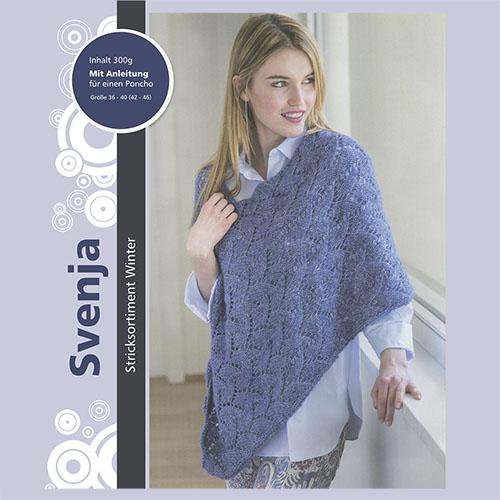 Набор для вязания пончо 'Svenja' 6 х 50 гр 6 х 95 м (51% хлопок, 39% полиакрил, 10% шерсть)