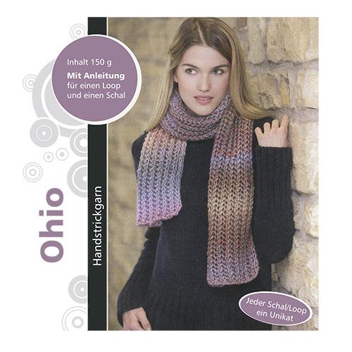 Набор для вязания шарфа 'Ohio' 150гр 315м (32% полиэстер, 68% полиакрил)