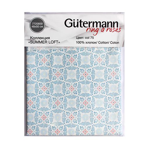 647039 Ткань коллекция 'Summer Loft', 48х50см, 100% хлопок Гутерманн