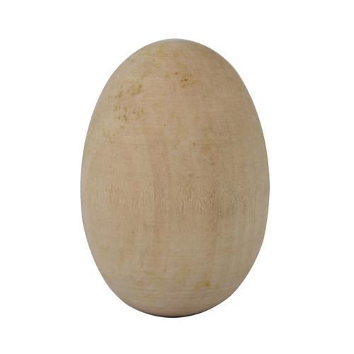 Деревянная заготовка Яйцо 4*2,5см, 4 шт/упак