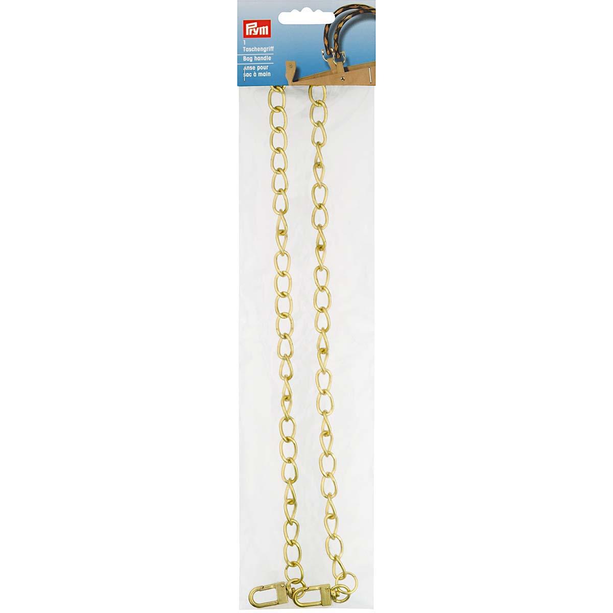615177 Цепочка для сумки 'Kate' 70см, цв.золотистый Prym