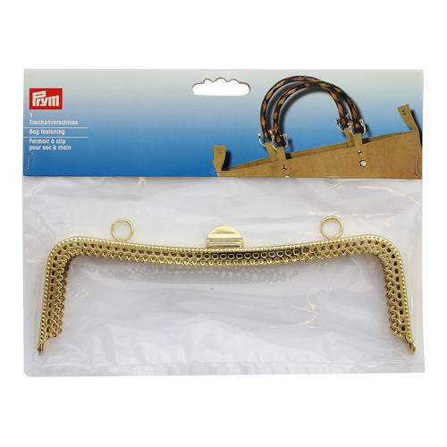 615178 Замок для сумки 'Scarlett' 19,7*7см, золотистый цв. Prym