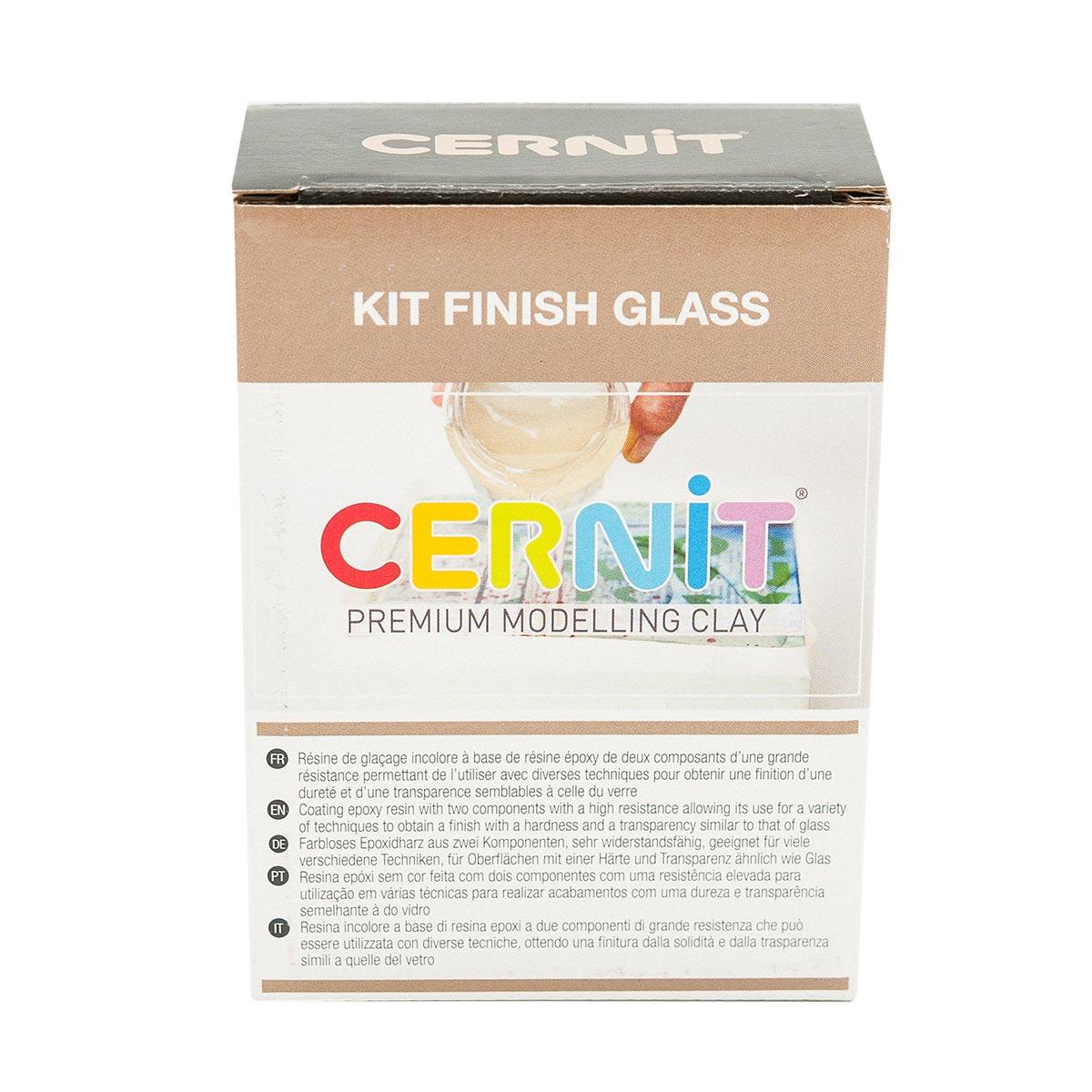 CE3060002K01 Эпоксидный стекловидный лак, набор двухкомпонентный 120мл. + 60мл. Cernit