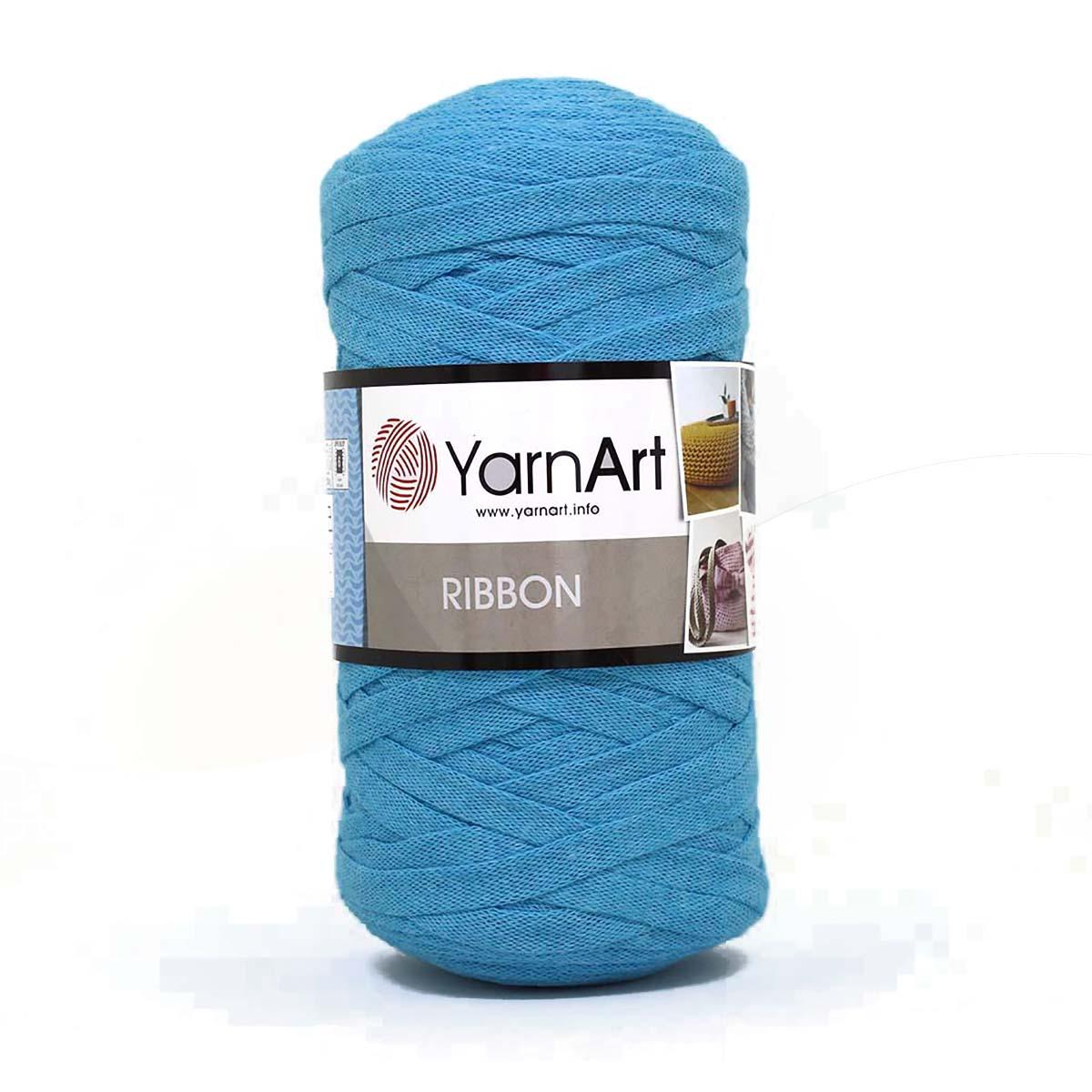 Пряжа YarnArt 'Ribbon' 250гр., 125м (60% хлопок, 40% вискоза, полиэстер) ТУ
