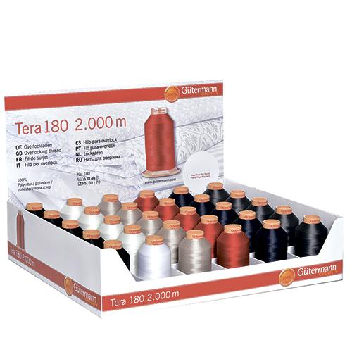 799700 Дисплей для швейных нитей (Тера 180 2000м 30бобин/6 цветов) 315 x 210 x 270 мм