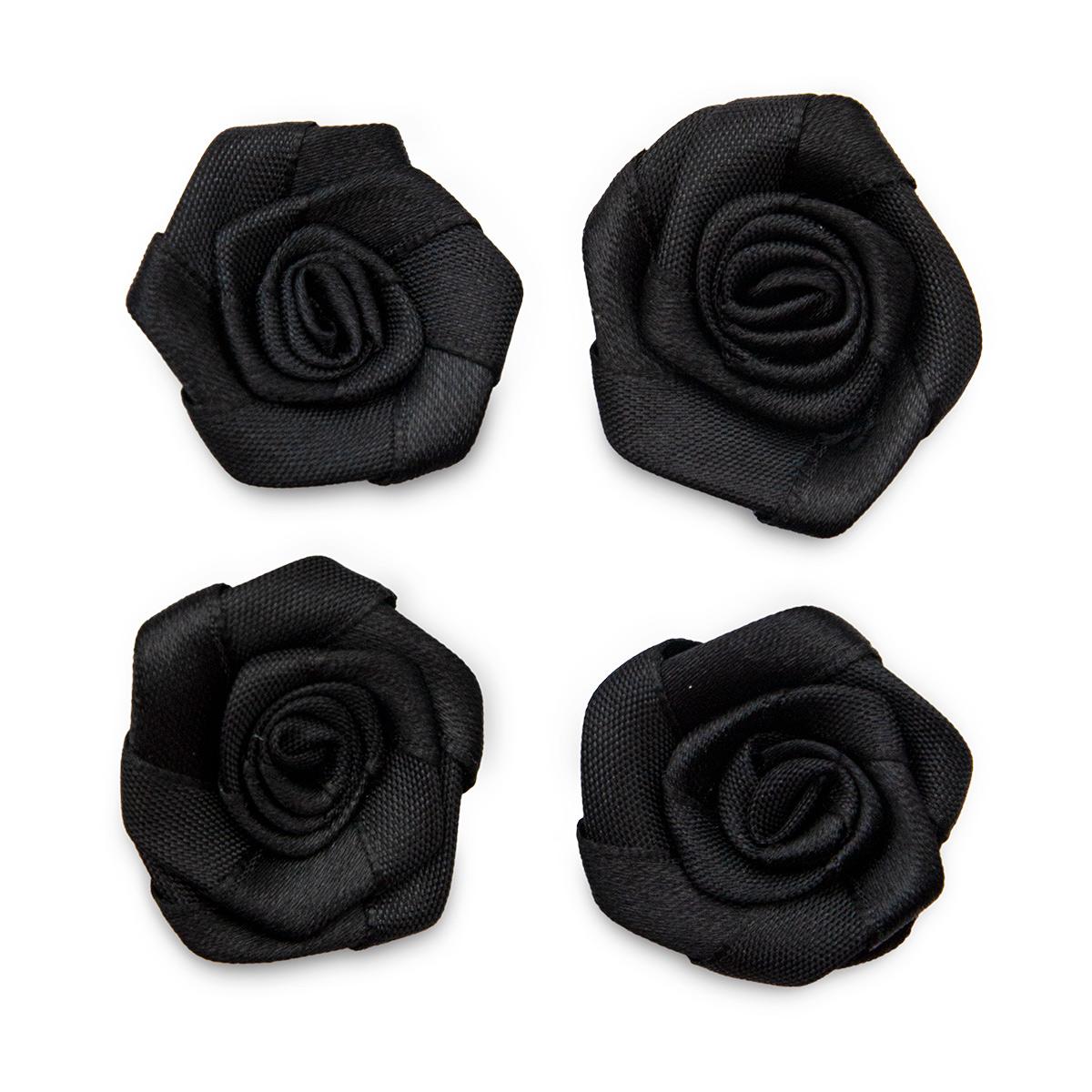 К-9080 Цветы пришивные 3см. 4шт.