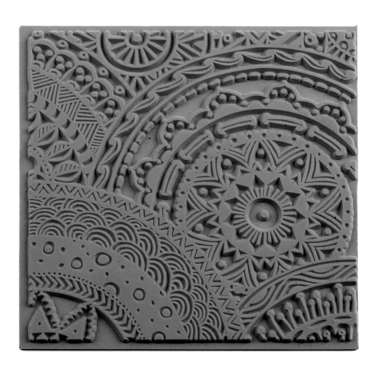 CE95017 Текстура для пластики резиновая 'Звездочки', 9х9 см. Cernit