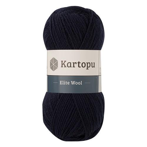 Пряжа KARTOPU 'Elite wool' 100г 220м (49% шерсть, 51% акрил) (K630) фото