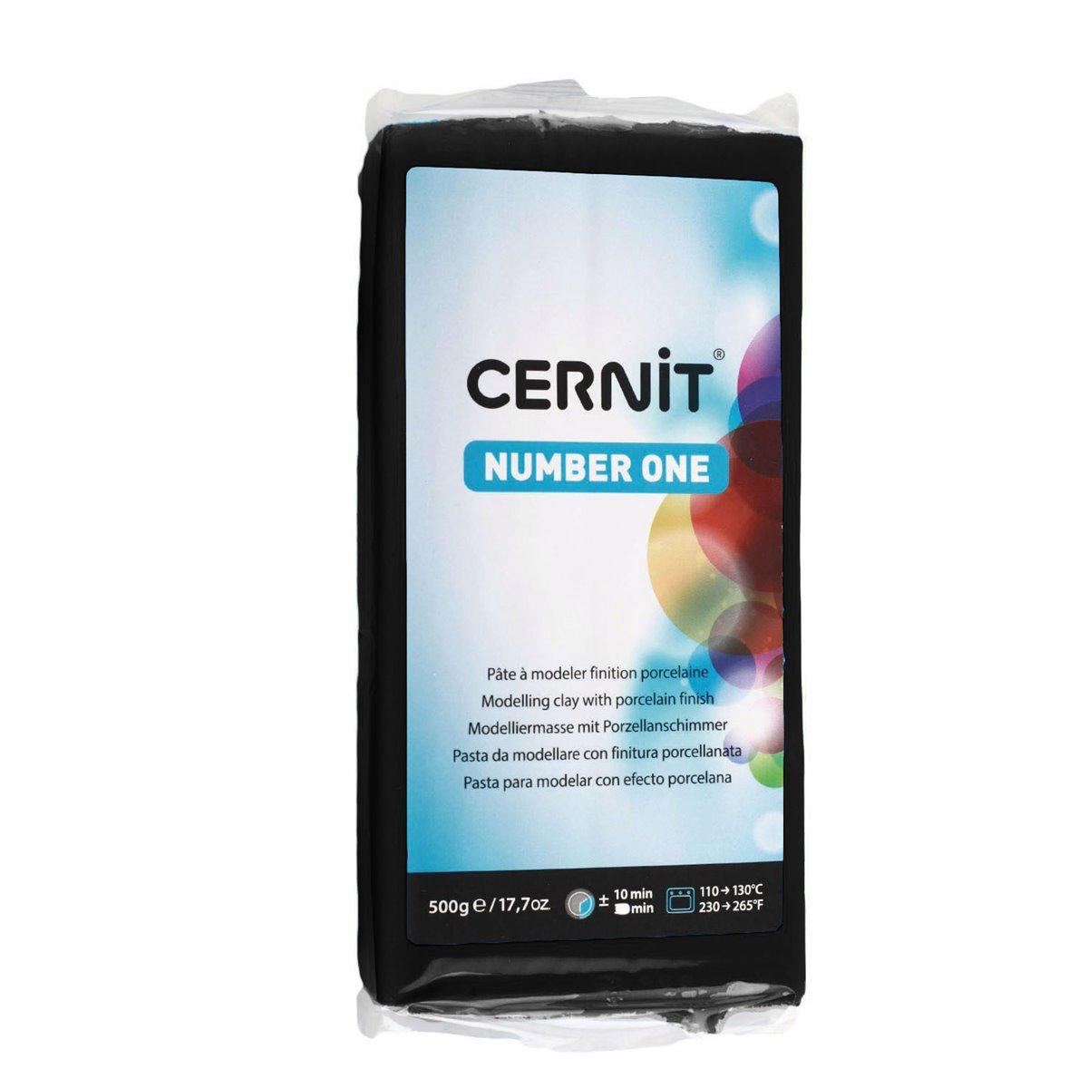 CE0900500 Пластика полимерная запекаемая 'Cernit № 1' 500гр.