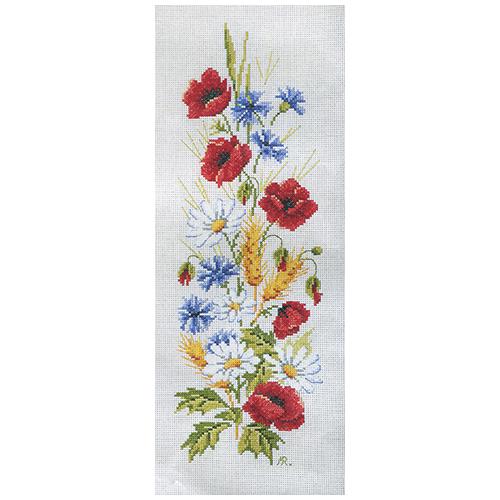 MRMK1992-4363 Набор для вышивания MARGOT 'Полевые цветы' 30*50см
