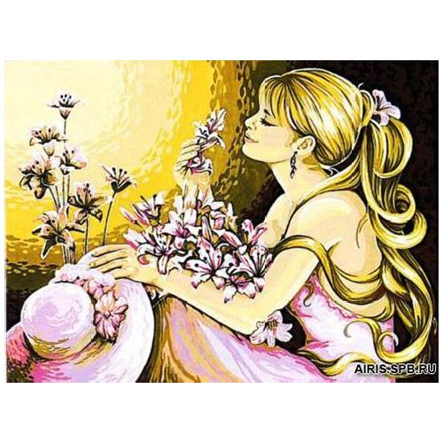 MRC1333-279 Канва с рисунком MARGOT 'Мечты' 50*65 см