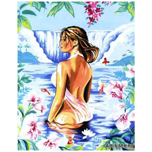 MRC1333-494 Канва с рисунком MARGOT 'На озере' 50*65 см