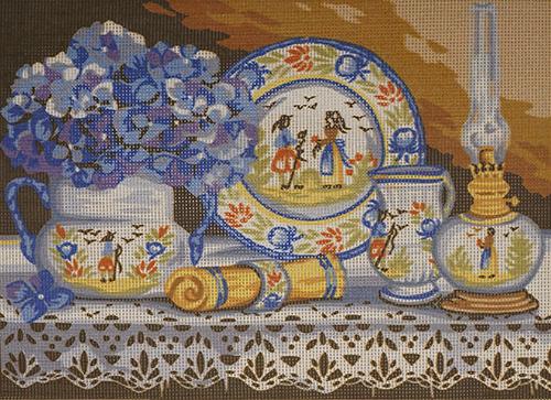 MRC1531-312 Канва с рисунком MARGOT 40*50 см