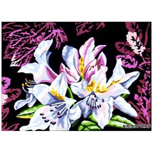 MRC1531-390 Канва с рисунком MARGOT 'Лилии' 40*50 см