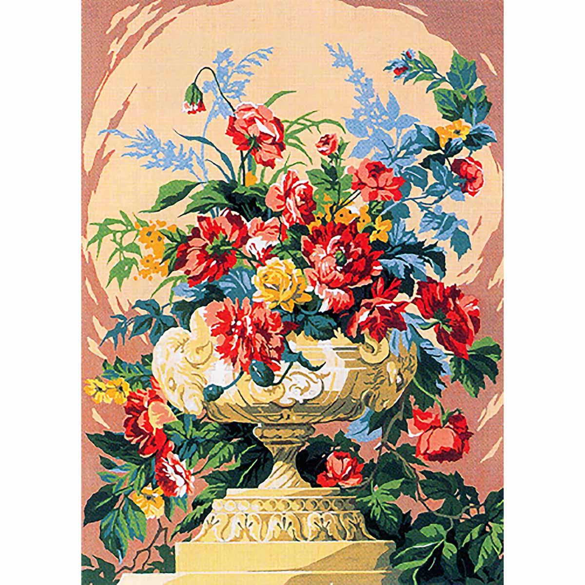 SE929-381 Канва с рисунком SEG de Paris 'Гармония' 45*60 см