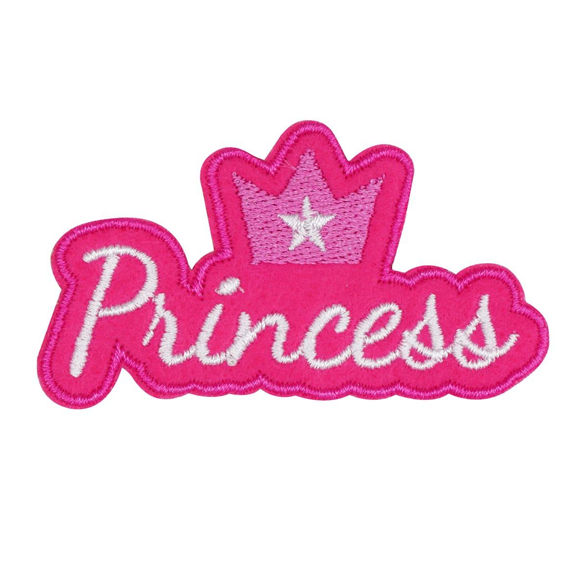 Термоаппликация 'Princess', 7*4см