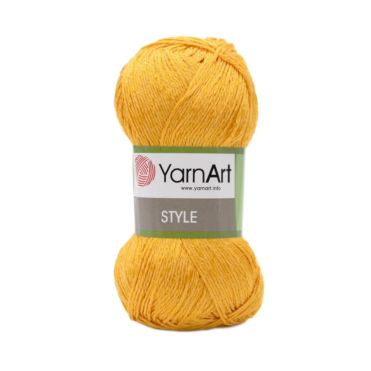 Пряжа YarnArt 'Style' 50гр 185м (67% хлопок, 33% вискоза)