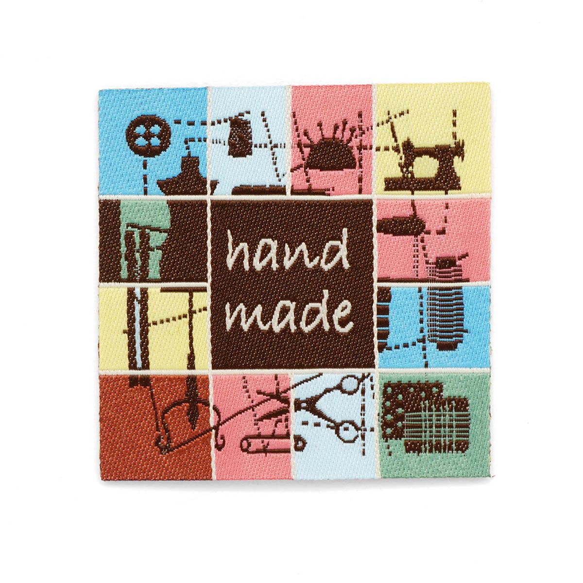 926045 Термоаппликация Handmade 'Шитье' 1шт Prym