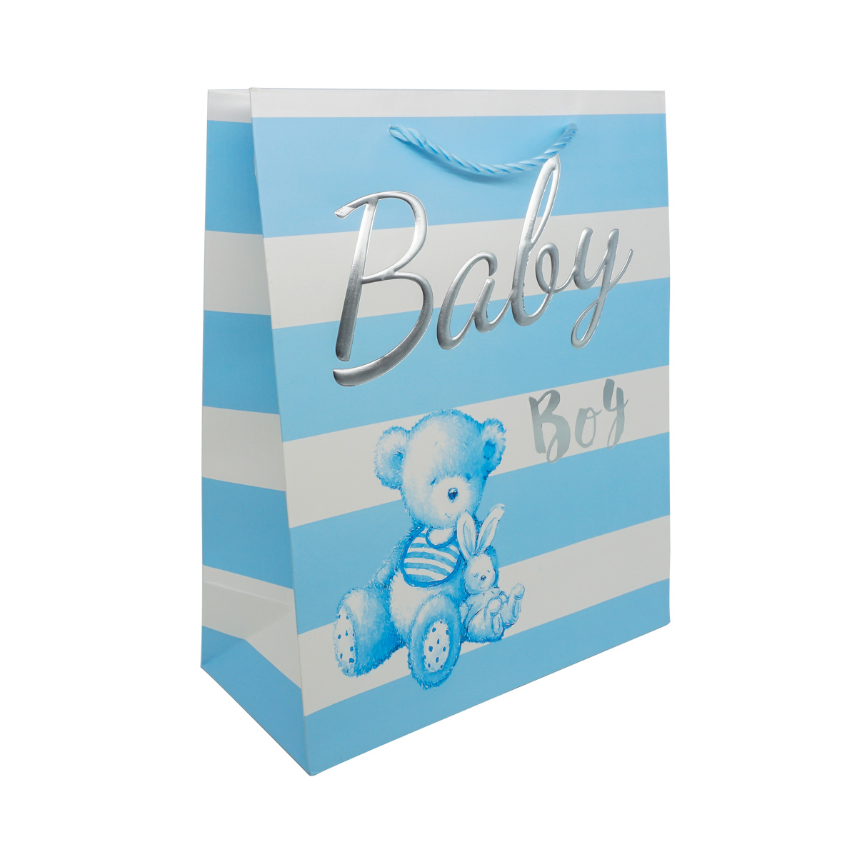 YR050 Пакет подарочный ламинированный 'Baby', 32*26*12см