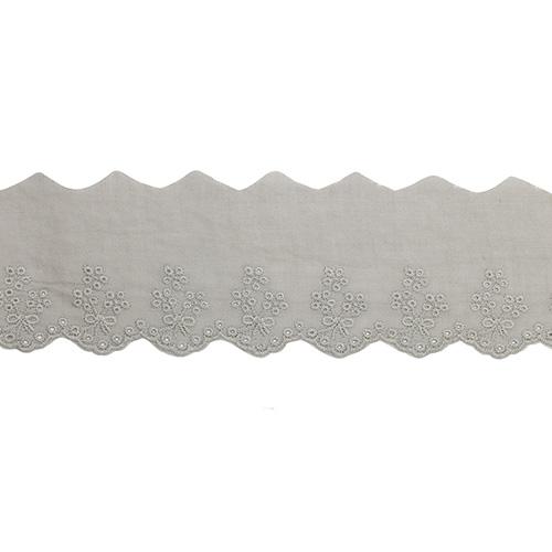 1AS-013 Шитье х/б 5,5см*13,72м, цвет серый