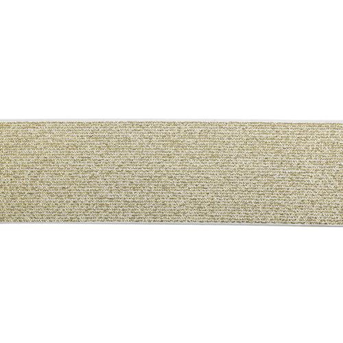 1AS-042 Лента эластичная металлизированная 5см*20м