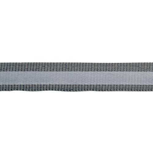 1AS-045 Лента репсовая со светоотражающей полосой 10мм/5мм*50м