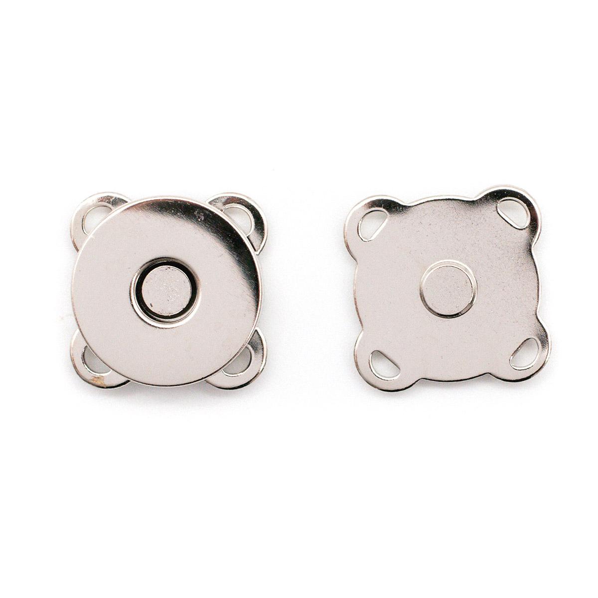 2AS-104 Кнопка магнитная пришивная 18мм