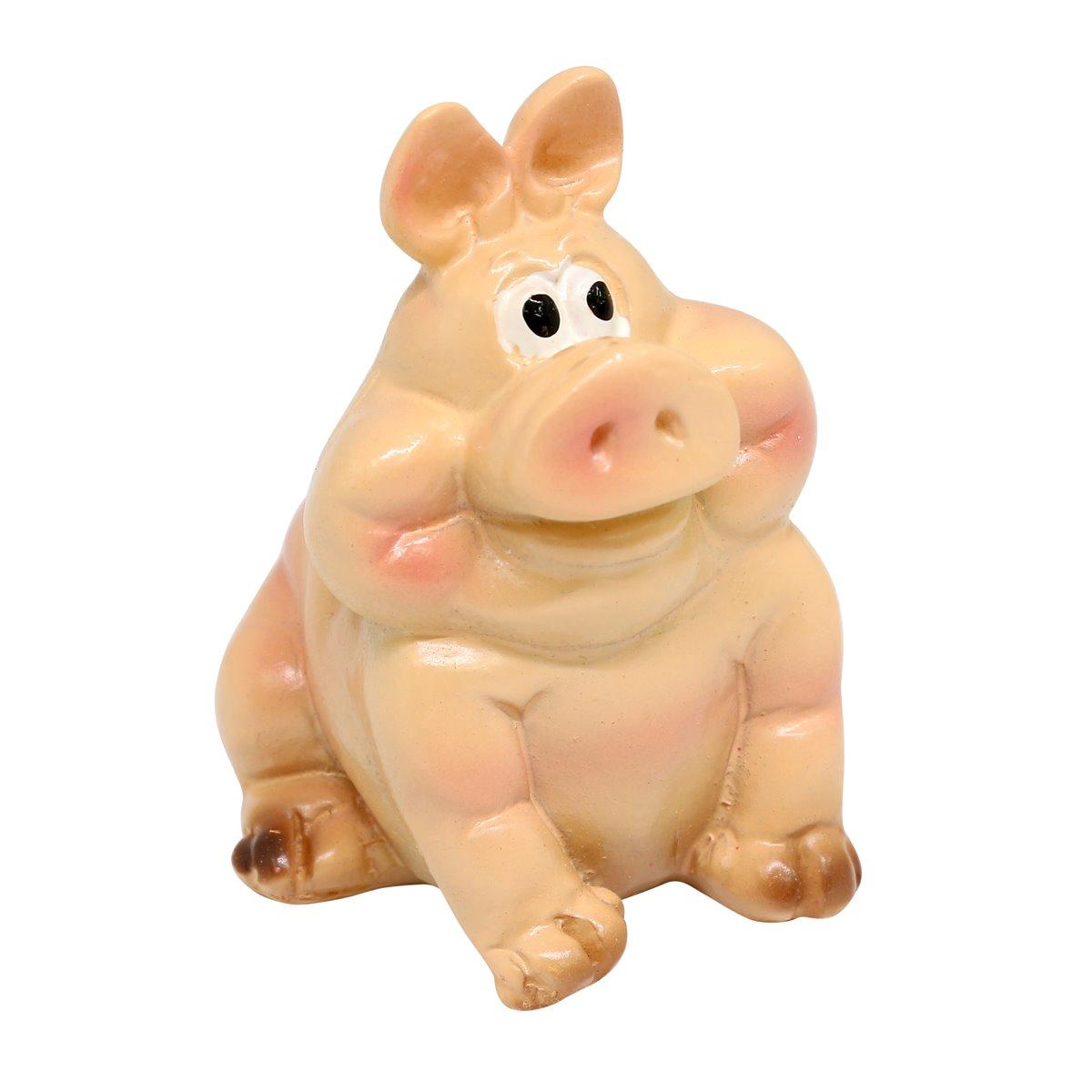 AS15-05, Миниатюра. Свинка, 3*4CM, в ассортименте