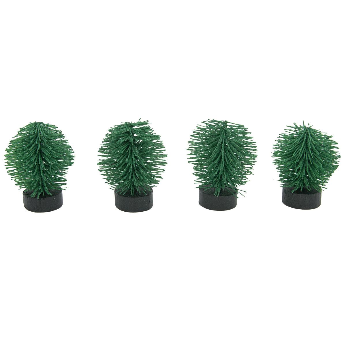 DGDT-5 Миниатюра. Деревце, 5см, 4шт/упак, цв.G-зеленый
