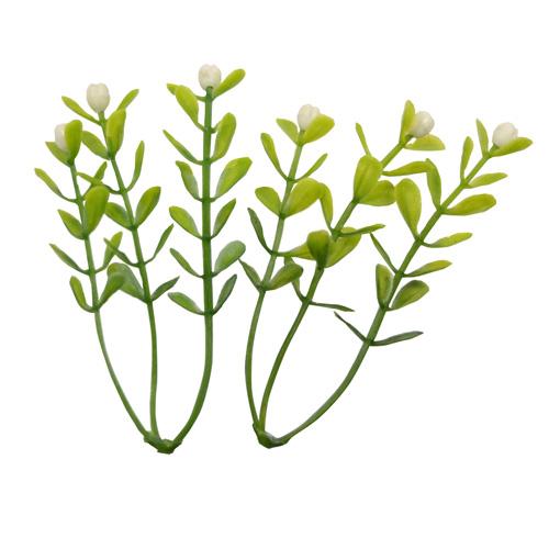 18FT00546 Веточки декоративные с цветочками, 5шт/упак