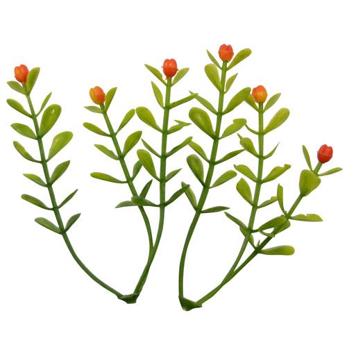 18FT00543 Веточки декоративные с цветочками, 5шт/упак