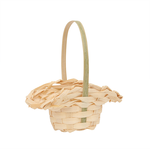 3AS-008 Плетеная мини-корзинка (бамбук), 8*6см