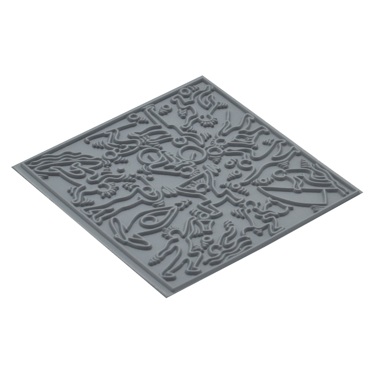 CE95024 Текстура для пластики резиновая 'Спорт', 9х9 см