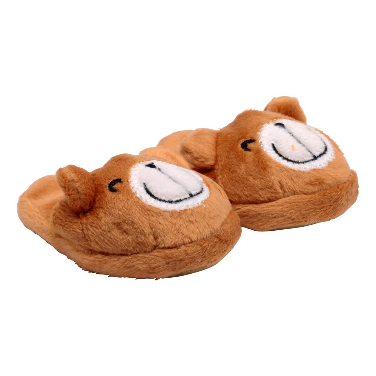 MISU-7298 Тапочки для кукол 'Мишки', 7см