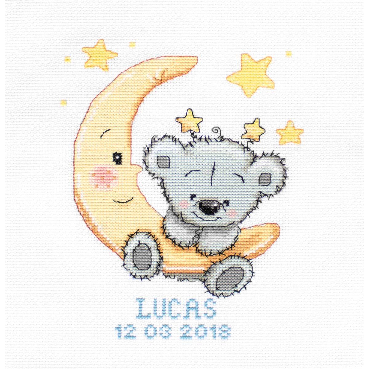 B1146 Набор для вышивания 'Лукас' 13*16,5 см, Luca-S фото