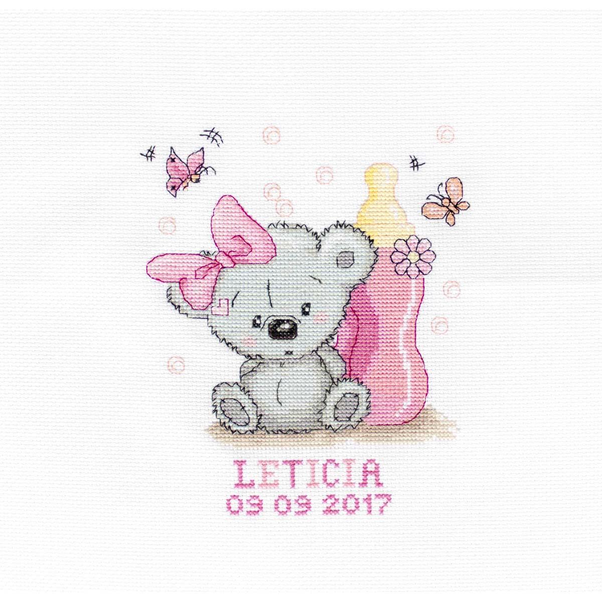 B1147 Набор для вышивания 'Летисия' 13*15,5 см, Luca-S