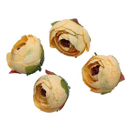 3AS-002 Бутон цветка искусственный, 4.5см, 4 шт/упак